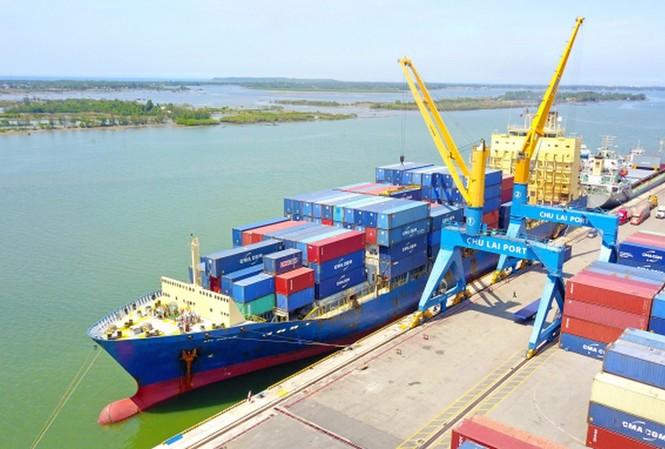 Cảng Chu Lai đón tàu Container tải trọng lớn nhất từ trước tới nay