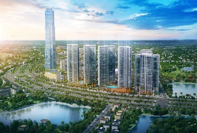 Phối cảnh tổng thể dự án Eco Green Sài Gòn