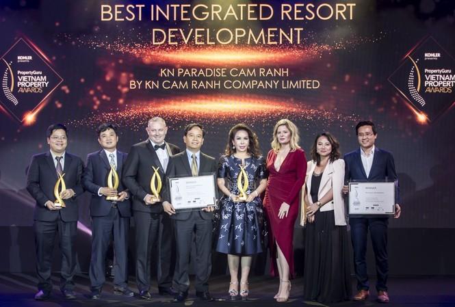 Chủ đầu tư KN Cam Ranh nhận giải Best Integrated Resort