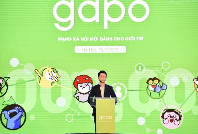 Ông Hà Trung Kiên - Tổng Giám đốc, Đồng sáng lập mạng xã hội Gapo chia sẻ về tính năng định danh tài khoản trong sự kiện diễn ra 15/9