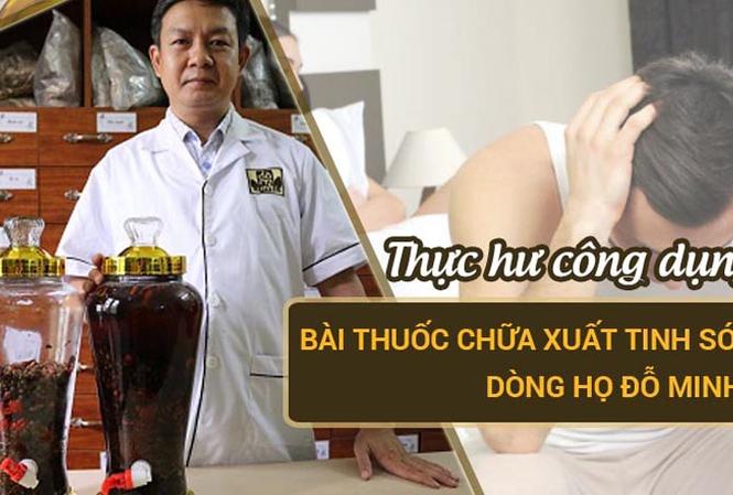 Bài thuốc chữa xuất tinh sớm Đỗ Minh Đường giúp nam giới lấy lại bản lĩnh