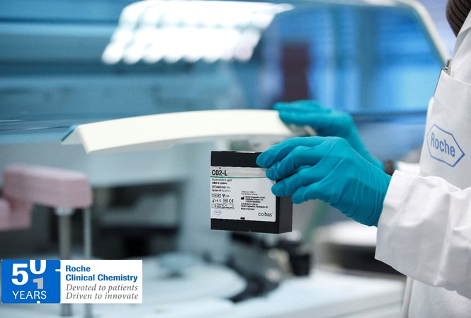 Roche kỷ niệm 50 năm đồng hành cùng ngành xét nghiệm Sinh hóa trên toàn cầu