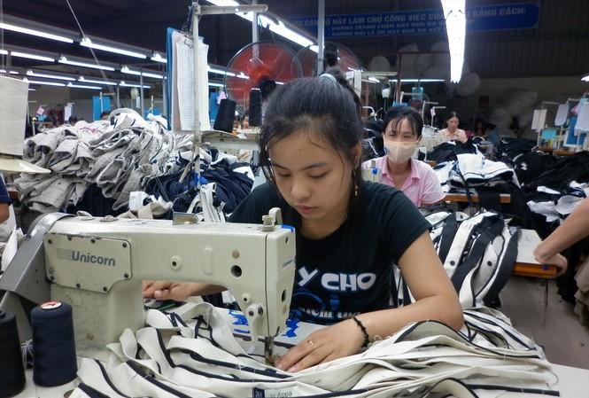 Dệt may là một trong những ngành hàng lợi thế khi Việt Nam ký hiệp định EVFTAẢnh : Bình Phương