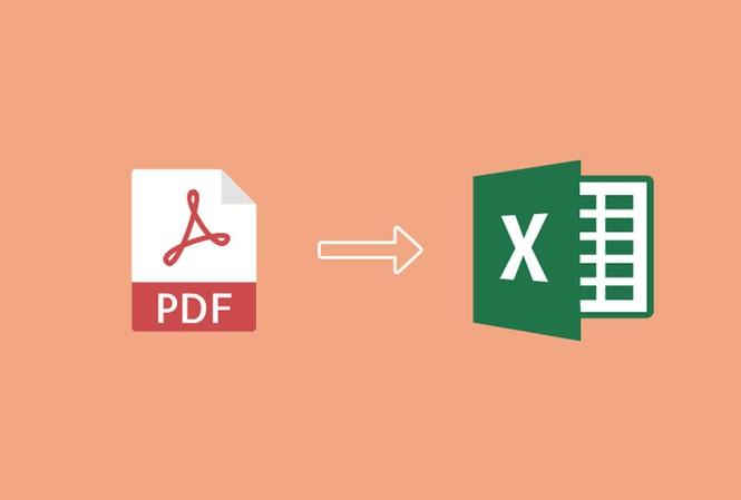Hướng dẫn chuyển đổi file PDF sang Excel không cần phần mềm
