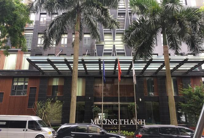 Trụ sở Tập đoàn Mường Thanh. Ảnh: Nguyễn Hoàn.