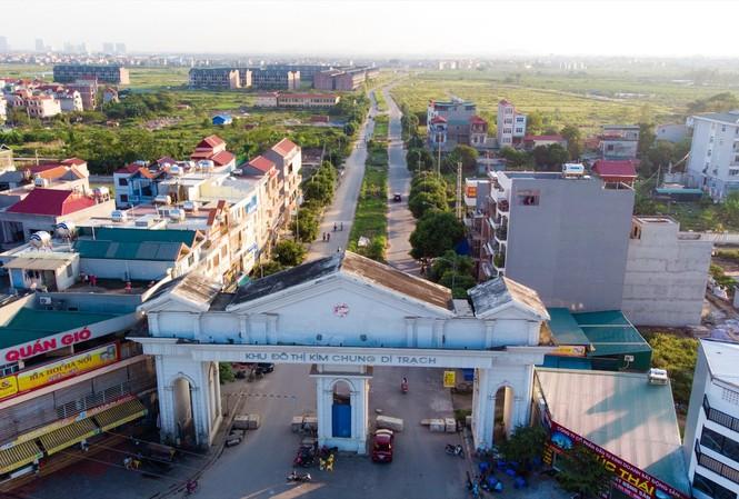 """Tại Dự án Kim Chung- Di Trạch (Hoài Đức, Hà Nội), các """"cò"""" đua nhau thổi giá đất trong và ngoài dự án"""