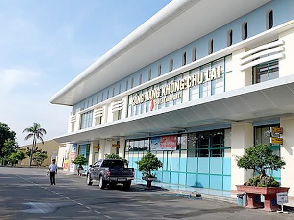 Sân bay Chu Lai phải kéo dài thời gian đóng cửa do nhà ga và nhiều thiết bị bị hư hỏng do bão số 9. Ảnh minh hoạ.