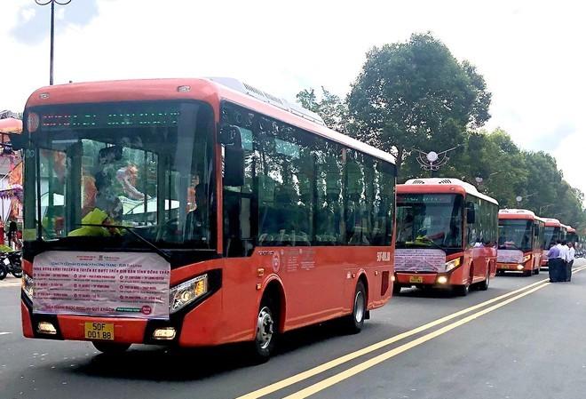 9 tuyến buýt mới tại Đồng Tháp được Phương Trang đưa vào khai thác từ ngày 25/10.