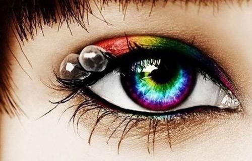 """Có thể bị mù khi sử dụng """"len mắt"""" bừa bãi. Ảnh minh hoạ: Internet"""