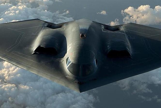Máy bay ném bom tàng hình hạt nhân B-2 Spirit của không quân Mỹ. Ảnh: FORBES