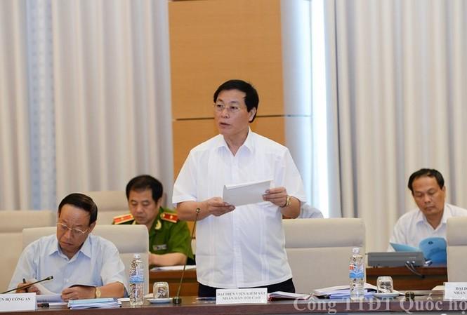 Phó Viện trưởng VKSND Tối cao Nguyễn Hải Phong