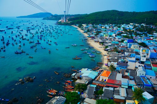 Phú Quốc được xem xét lên thành phố. Ảnh IT