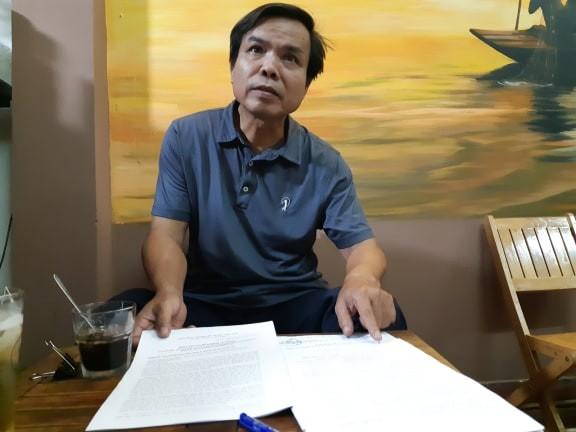 """Ông Lương Xuân Bình, gần 4 năm """"đội đơn"""" tố cáo tham nhũng. Ảnh: M.Đ"""