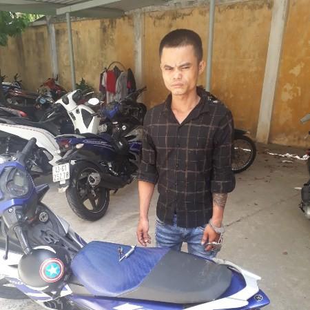 Trộm xe máy ở Đà Nẵng, chạy suốt đêm vào Sài Gòn tiêu thụ