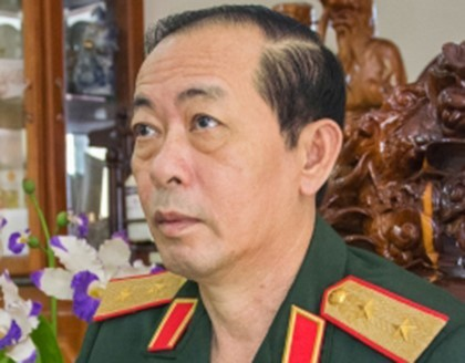 Trung tướng Trần Phi Hổ. Ảnh: Báo Cà Mau.
