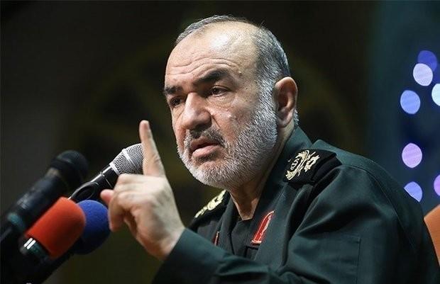 Tướng Hossein Salami. Ảnh: Tehran Times