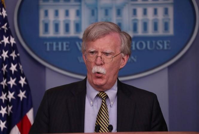Ông John Bolton - cố vấn an ninh quốc gia của Tổng thống Mỹ Donald Trump. Ảnh: AP