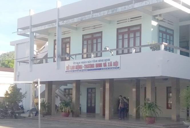 Sở Lao động-Thương binh và Xã hội Bình Định, nơi ông Ân công tác.