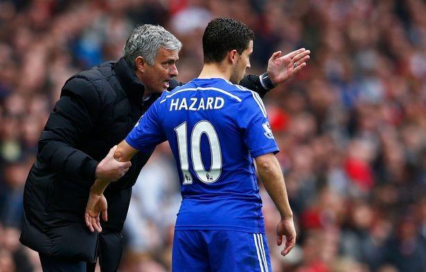 Mourinho sẽ đẩy Hazard lên ghế dự bị dài dài.