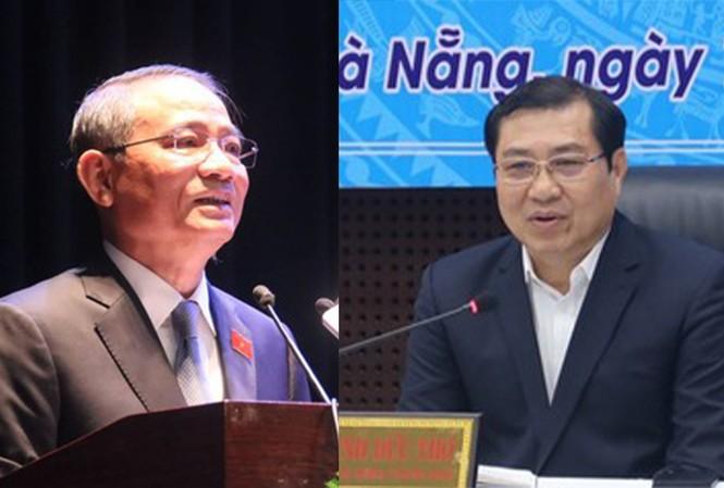 Ông Trương Quang Nghĩa và ông Huỳnh Đức Thơ.