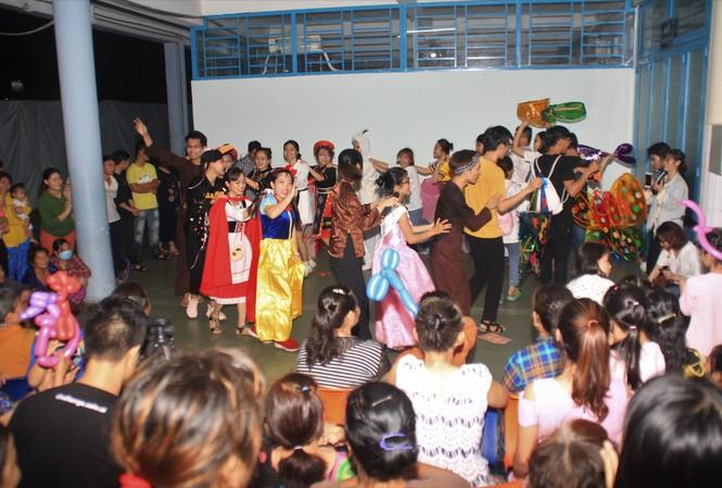 Niềm vui lan tỏa ở ngày hội Trung thu dành tặng bệnh nhi