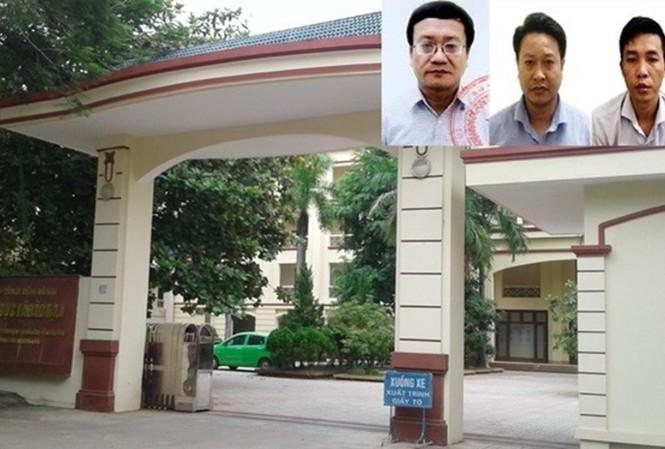 Ba bị can Nguyễn Quang Vinh