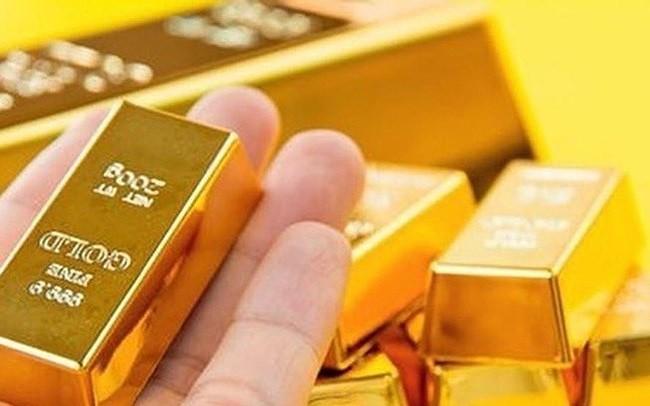 Gía vàng bất ngờ tăng gần 600.000 đồng. ảnh minh hoạ