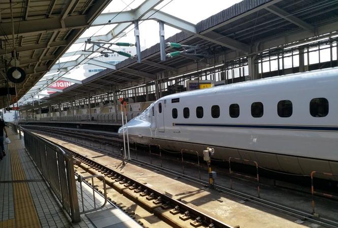 đường sắt cao tốc của Nhật Bản. ảnh minh hoạ