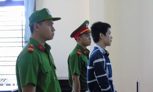 Bị cáo tại phiên tòa – Ảnh: Kim Hà