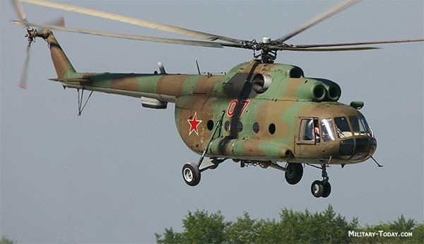 Một chiếc máy bay trực thăng Mi-8. Ảnh: Military Today.