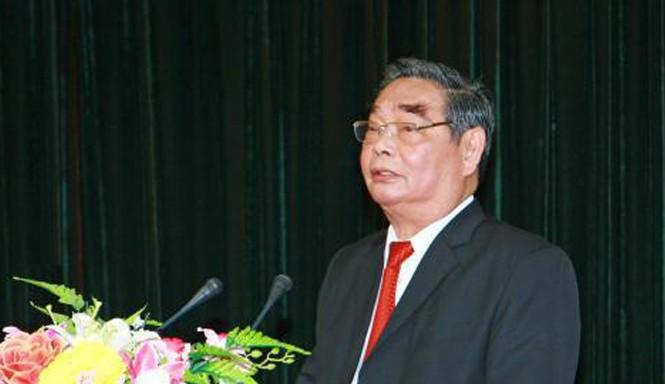 Ðồng chí Lê Hồng Anh phát biểu tại một hội nghị. Ảnh: Doãn Tấn/TTXVN.
