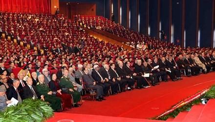 Các đại biểu tại Đại hội. Ảnh: Hồng Vĩnh.