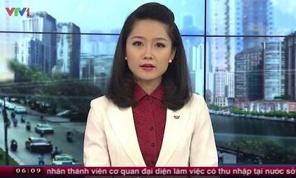 Thu Hà trẻ trung, xinh đẹp xuất hiện trong chương trình 'Chào buổi sáng' cách đây 6 năm.