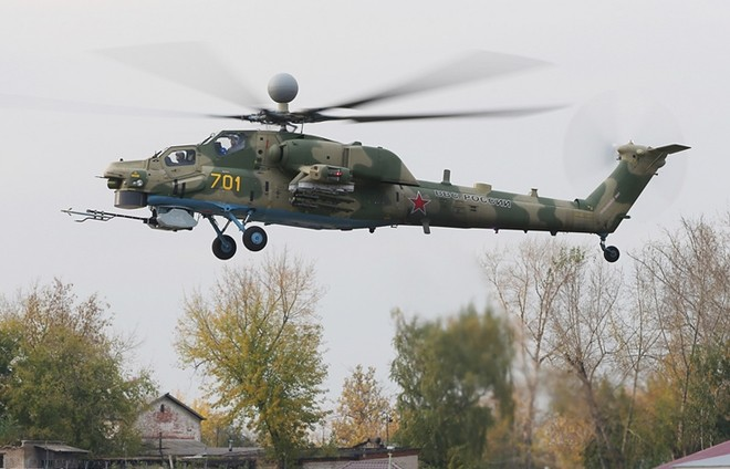 """""""Thợ săn đêm"""" Mi-28N của Nga"""
