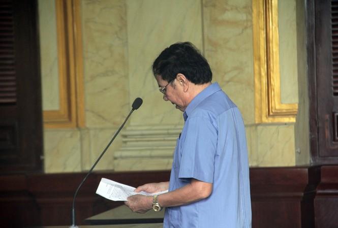 Nguyên Chủ tịch Tập đoàn Cao su Việt Nan - Lê Quang Thung vừa bị tuyên phạt 4 năm tù. Ảnh: Tân Châu