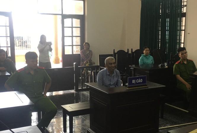 Phiên tòa ngày 12/11 đã tuyên phạt bị cáo Nguyễn Văn Chín 5 năm tù.