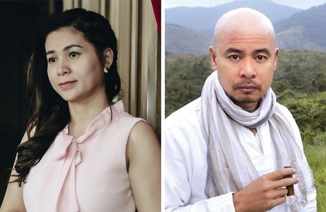 Bà Thảo và ông Vũ cùng có mặt tại phiên tòa sáng nay 2/12.