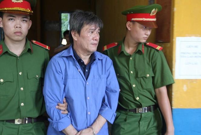'Siêu lừa' Dương Thanh Cường trong 1 lần hầu tòa. Ảnh: Tân Châu