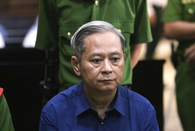Cựu Phó Chủ tịch UBND TPHCM Nguyễn Hữu Tín vừa bị phạt 7 năm tù. Ảnh: Tân Châu