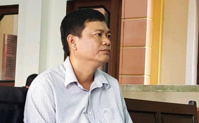 Nguyễn Tuyến Dũng (nguyên điều tra viên cao cấp, Cơ quan CSĐT Công an tỉnh Tiền Giang) - 1 trong những 'tác giả' vụ việc dẫn đến Bộ Công an sẽ xin lỗi 2 doanh nhân vào ngày 5/3 tới. Ảnh: Tân Châu