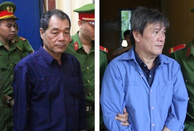 Trầm Bê và Dương Thanh Cường - hai bị can trong vụ án. Ảnh: Tân Châu
