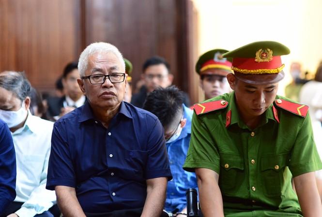Cựu Tổng giám đốc DongABank Trần Phương Bình. Ảnh: Tân Châu.