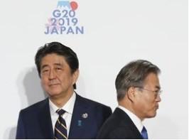 Tranh cãi giữa Nhật Bản và Hàn Quốc lần này vượt khỏi giới hạn ngoại giao. (Ảnh: Bloomberg)