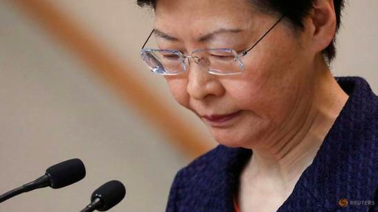 Trưởng đặc khu Hong Kong Carrie Lam. (Ảnh: Reuters)