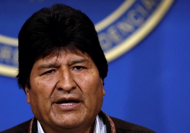 Tổng thông Bolivia Evo Morales. (Ảnh: Reuters)