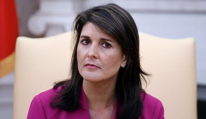 Cựu đại sứ Mỹ tại LHQ Nikkey Haley