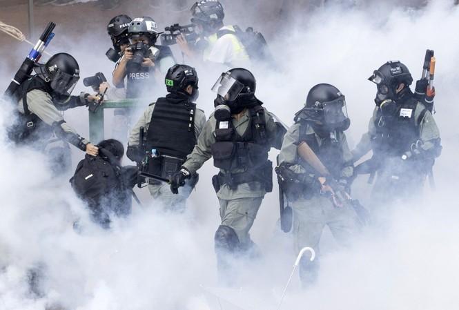 Tình hình biểu tình Hong Kong đang bước vào giai đoạn nguy hiểm. (Ảnh: SCMP)
