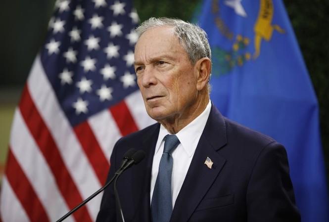 Tỷ phú Michael Bloomberg. (Ảnh: AP)