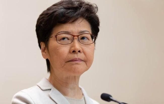 Trưởng đặc khu Hong Kong Carrie Lam. (Ảnh: BBC)