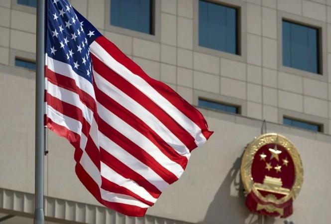 Đạo luật về Dân chủ và nhân quyền Hong Kong được Tổng thống Mỹ Donald Trump ký hôm 27/11. (Ảnh: AP)